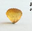 茯神琥珀 纯天然 缅甸 金珀 琥珀 吊坠 挂件 贝壳 (9)