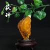 茯神琥珀 纯天然 波罗的海 琥珀 金珀 雕刻件 鼻烟壶